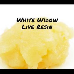 White Widow **Live Resin**