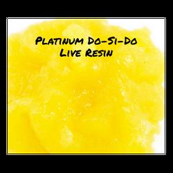 Platinum Do-Si-Do **Live Resin**