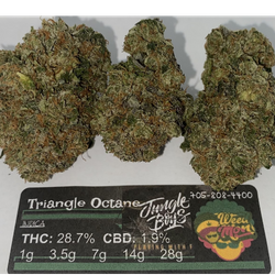 ****SALE* Triangle Octane THC: 28.7%  CBD: 1.9%