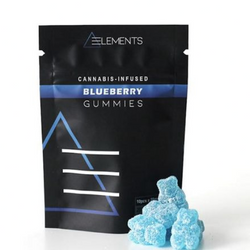 200mg Blueberry Gummies by Elements