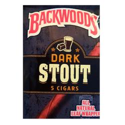 BACKWOODS DARK STOUT(5 CIGARS)