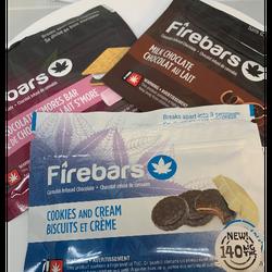 Firebars chocolate edibles 150 mg