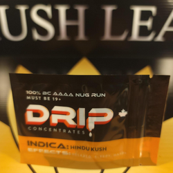 Hindu Kush Shatter by Drip $25 each or 2 or $40 (You can mix and match with any 2 for $40)