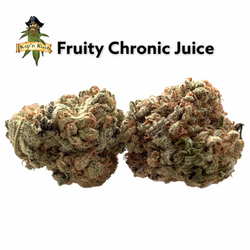 Fruity Chronic Juice | AA | 26%THC | Reg Price $153