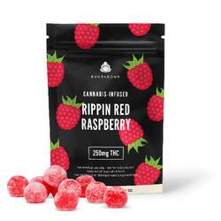 250mg Buudabomb Rippen Red Raspberry