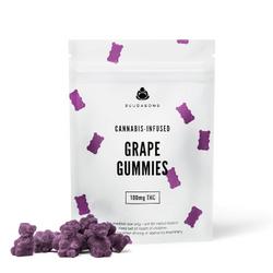 100mg Buudabomb Grape Gummies