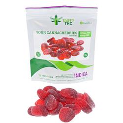 Sour Canna Cherries (480mg THC/40mg CBD)