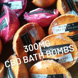 CBD Bath Bombs 300mg