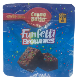 Funfetti Brownies | 600mg