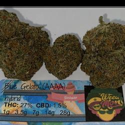 *$170/OZ!* Blue Gelato (AAAA) THC: 27% CBD: 1.5%