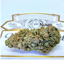 Nuken - Indica Dom Hybrid - $110 Oz  or $65 1/2 Oz Sale!!