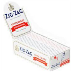 White ZigZag Papers $2.50