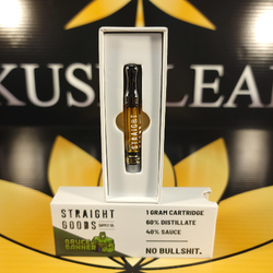 ***NEW***Bruce Banner (Hybrid) 1G Craft Terp Carts by Straight Goods