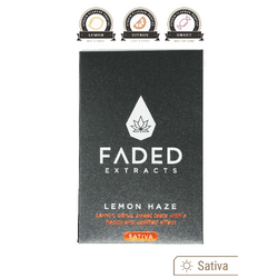 Faded Extracts Lemon Haze Shatter