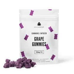 BuudaBomb Gummies - 100mg THC - Grape
