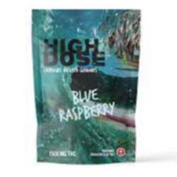 High Dose – Blue Raspberry  1500mg THC