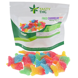 TASTY THC FRIED CARIBBEAN FISH (480MG/THC 40MG/CBD)