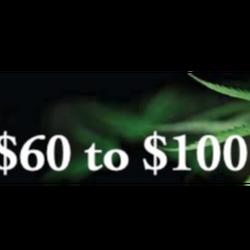 $60 to 100$ Ounces