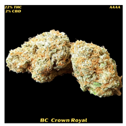 BC CROWN ROYAL(AAAA) REGULAR 170$OZ NOW ONLY 150$OZ