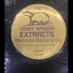 Honey Badger HTCE - 1gr - Platinum Banana OG