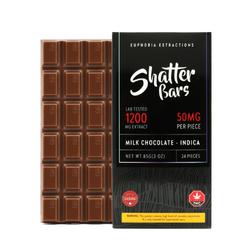 Milk Chocolate Sativa 1200mg Shatter Bar ***NEW***