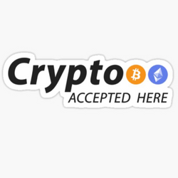 We are now Accepting CRYPTO!