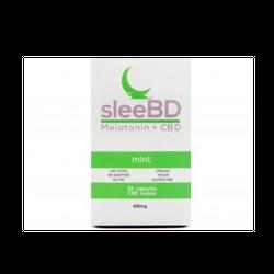 SleeBD – Mint Capsules (600mg CBD & Melatonin)
