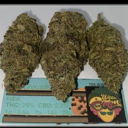 Mint Choclate Chip THC: 29% CBD: 2.3%