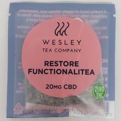 WESLEY TEA CO. – Restore Functionalitea - 20MG THC