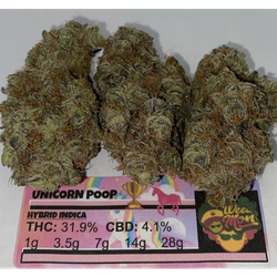 ****🏆* Unicorn Po op🏆 THC: 31% CBD: 4.1%