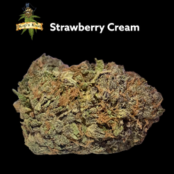 Strawberry Cream | AAA | 27%THC | Reg Price $195