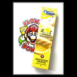 """HYBRID"" 1G Dolphin Extracts ""Lemon Pound Cake"" Rechargeable Disposable Vape Pen"