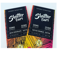 500mg Shatter Bars (Sativa) 🍫