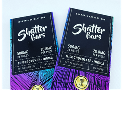 500mg Shatter Bars (Indica) 🍫