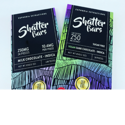 250mg Shatter Bars (Indica) 🍫