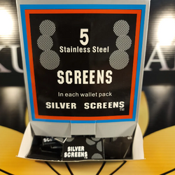 Pipe Screens Stainless Steel Wallet Pack