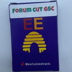 EXCLUSIVE EXTRACTS – HTE FORUM CUT GSC VAPE CHARTS (1 GRAM) - 3pcs