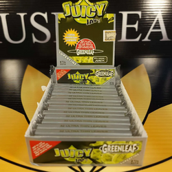 Juicy Jay's GreenLeaf 1 1/4 Rolling Papers