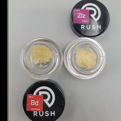 Rush Diamond concentrates! 2 strains