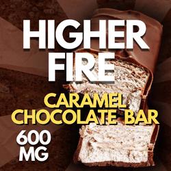 HIGHER FIRE CARAMEL CHOCOLATE  BAR