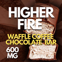 HIGHER FIRE WAFFLE COFFEE CHOCOLATE BAR