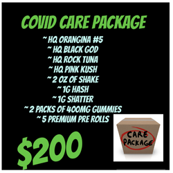 COVID CARE PACKAGE $200