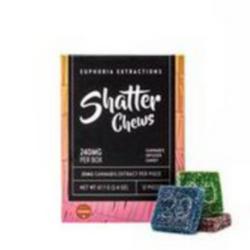 Sativa Shatter Chews 240mg - [Euphoria Extractions]