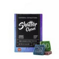 Indica Shatter Chews 240mg - [Euphoria Extractions]