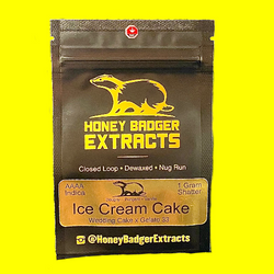 Honey Badger Extracts Ice Cream Cake (shatter)