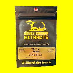 Honey Badger Extracts God Bud (shatter)