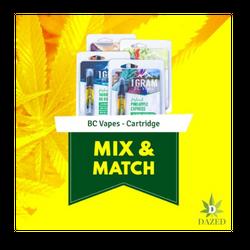 BC Vapes – 5 Cartridge Mix and Match
