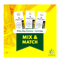 Milky Way Extracts – 3 Cartridge Mix and Match