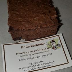Chocolate chunk brownie 😋 1000mg thc per piece 🔥