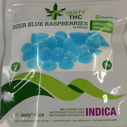 Sour Blue Raspberries-Indica